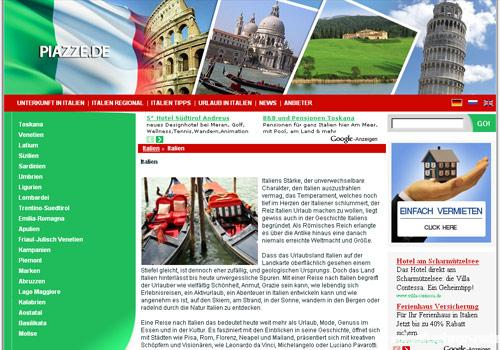 www.piazze.de